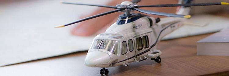 Éric Bertin : Chef instructeur de vol pour l'école de pilotage Capitale Hélicoptère